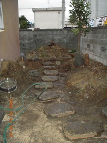 飛び石 2008/10/14  (NO14)